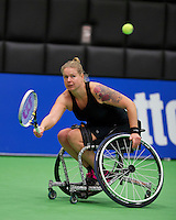 December 18, 2014, Rotterdam, Topsport Centrum, Lotto NK Tennis, Michaela Spaanstra (NED)<br /> Photo: Tennisimages/Henk Koster