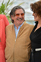 """CANNES, FRANCE. May 21, 2019: Daniel Auteuil & Fanny Ardant at the photocall for """"La Belle Epoque"""" at the 72nd Festival de Cannes.<br /> Picture: Paul Smith / Featureflash"""