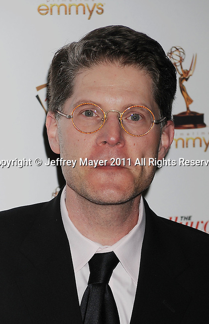 WEST HOLLYWOOD, CA - SEPTEMBER 16: Bob Bergen attends the 63rd Annual Emmy Awards Performers Nominee Reception held at the Pacific Design Center on September 16, 2011 in West Hollywood, California.