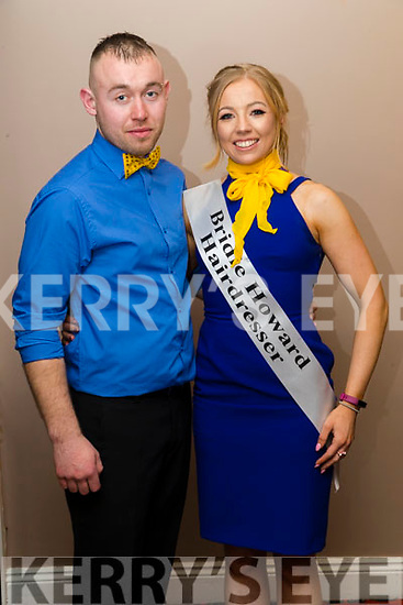 Bobby Howard and Denise Kerins at Ballymac Strictly Come Dancing, at Ballygarry House Hotel & Spa, Tralee, on Saturday night