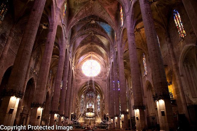 Cathedral, Palma de Mallorca, Majorca, Spain