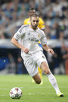 Real Madrid´s Karim Benzema during Champions League 2013-14 match in Bernabeu stadium, Madrid. October 23, 2013. (ALTERPHOTOS/Victor Blanco)