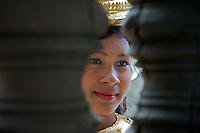 APSARA Dancers,Angkor Wat, Siem Reap Cambodia