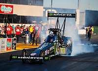Jul 28, 2017; Sonoma, CA, USA; NHRA top fuel driver Brittany Force during qualifying for the Sonoma Nationals at Sonoma Raceway. Mandatory Credit: Mark J. Rebilas-USA TODAY Sports