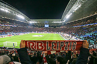 10th March 2020, Red Bull Arena, Leipzig, Germany; EUFA Champions League, RB Leipzig v Tottenham Hotspur; Fans  show their support