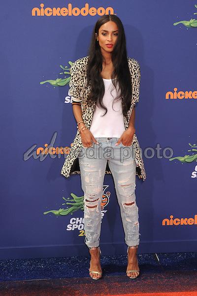 16 July 2015 - Westwood, California - Ciara. Nickelodeon Kids Choice Sports Awards 2015 held at the UCLA Pauley Pavilion. Photo Credit: Byron Purvis/AdMedia