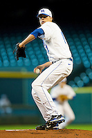 Starting pitcher Alex Meyer #17 of the Kentucky Wildcats in action against the Houston Cougars at Minute Maid Park on March 5, 2011 in Houston, Texas.  Photo by Brian Westerholt / Four Seam Images