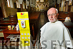 Fr Joe O'Brien at the Dominican Church on Monday as he prepares for their reopening.