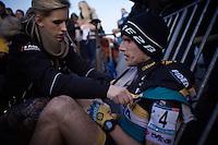 Corne Van Kessel (NLD/Telenet-Fidea) post-race<br /> <br /> UCI Cyclocross World Cup Heusden-Zolder 2015