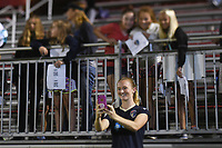 Boyds, MD - Wednesday August 30, 2017: Samantha Mewis during a regular season National Women's Soccer League (NWSL) match between the Washington Spirit and the North Carolina Courage at Maureen Hendricks Field, Maryland SoccerPlex.