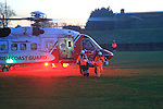 Rescue 116 lands at GAA grounds 28th December 2014