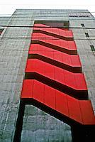Tokyo: Big Box--facade. Kisho Kurokawa, architect. Photo '81.