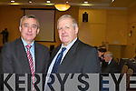 Ogie Moran and Richard O'Sullivan Objections were heard at an oral hearing in Tralee called by An Bord Pleana?la on the Shannon LNG Liquid natural gas terminal Brandon Hotel on Monday 21st January.   Copyright Kerry's Eye 2008