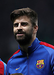Gerard Piqué of Barcelona during the Champions League match at Celtic Park, Glasgow. Picture Date: 23rd November 2016. Pic taken by Lynne Cameron/Sportimage