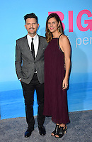 Adam Scott &amp; Marie Kojzar at the premiere for HBO's &quot;Big Little Lies&quot; at the TCL Chinese Theatre, Hollywood. Los Angeles, USA 07 February  2017<br /> Picture: Paul Smith/Featureflash/SilverHub 0208 004 5359 sales@silverhubmedia.com