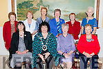 ICA National President Liz Wall with the Kerry Federation committee at their annual social in the Dromhall Hotel on Sunday afternoon front row l-r: Liz O'Leary Secretary, Liz Wall National President, Breda Browne County President, Geraldine Dennehy Treasurer. Back row: Mary Scanlon Derryquay, Breda Bacaeir Annauscaul, Noreen McEvoy Moyvane, Joanne Lenehan Annascaul, Catherine Spillane Castlegregory, and Celia Cooke Derryquay