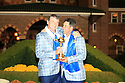 Paul Lawrie of Team Europe poses with Jose Maria Olazabal after the closing ceremony of the 39th Ryder Cup matches, Medinah Country Club, Chicago, Illinois, USA.  28-30 September 2012 (Picture Credit / Phil Inglis)
