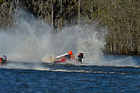 Frame 12: Serena Durr 96-F, Erin Pittman 6-H crash. (Outboard Hydroplanes)