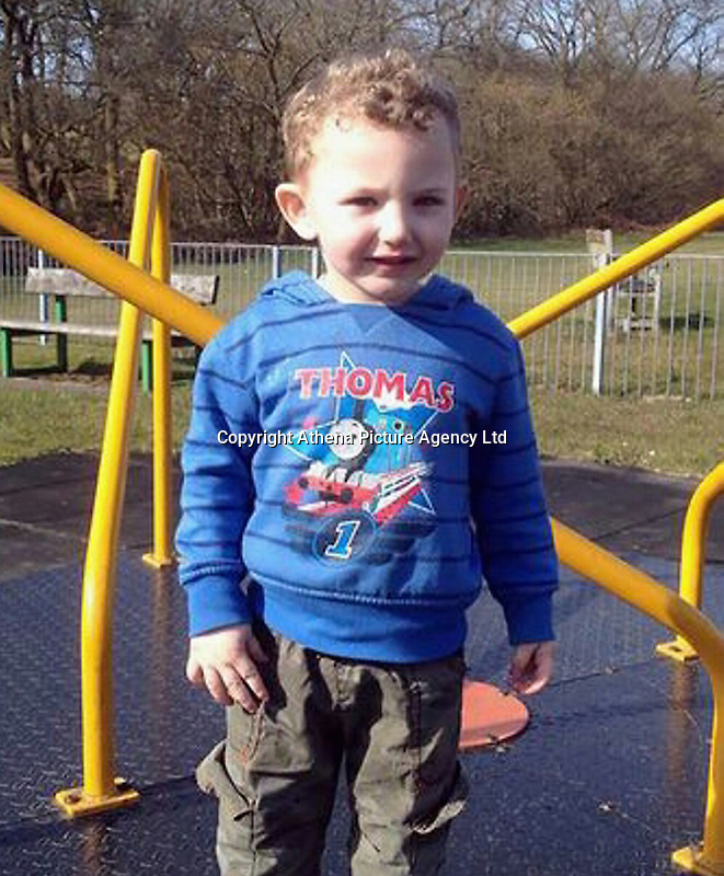 Pictured: Undated family handout of Jac Davies who died in a house fire in the Alltwen area of Pontardawe, south Wales<br /> Re: A four-year-old boy has died following a fire at a house in Neath Port Talbot.<br /> Fire crews were called to the property in Lon Tanyrallt, Alltwen, near Pontardawe, at 1.40am on Wednesday.<br /> They rescued the boy from an upstairs bedroom in the two-storey semi-detached house but he died at the scene.<br /> A three-year-old boy was also rescued and take to hospital along with his sister, six, and mother who had both managed to escape the blaze.<br /> They were all suffering from suspected smoke inhalation.<br /> Mid and West Wales Fire and Rescue Service said the woman, who is believed to be in her 20s, called for help and neighbours tried to get in to help the stranded children.