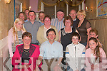 Garrett Dee seated second from left from Carrig Island, Ballylongford, celebrated his 50th birthday with family and friends in Allo's Restaurant, Listowel, on Saturday night.     Copyright Kerry's Eye 2008