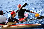 Kayak Polo en el Mar Menor.