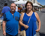 Steve and Tanya during Art Fest on Saturday June 30, 2018 in downtown Reno.