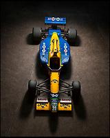 Schumacher's Benetton F1 car for sale.