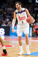 Real Madrid's player Rudy Fernandez during match of Liga Endesa at Barclaycard Center in Madrid. September 30, Spain. 2016. (ALTERPHOTOS/BorjaB.Hojas) /NORTEPHOTO.COM