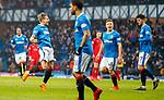 4.3.2018: Rangers v Falkirk Scottish Cup QF<br /> Jason Cummings celebrates his 2nd goal
