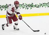 Sydney Daniels (Harvard - 25) - The visiting Boston College Eagles defeated the Harvard University Crimson 2-0 on Tuesday, January 19, 2016, at Bright-Landry Hockey Center in Boston, Massachusetts.
