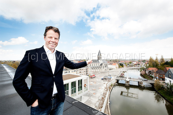 CD&V politician and mayor of Deinze, Jan Vermeulen (Belgium, 28/04/2016)