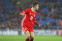 David Brooks of Walesd,the International Friendly match between Wales and Panama at The Cardiff City Stadium, Wales, UK. Tuesday 14 November 2017