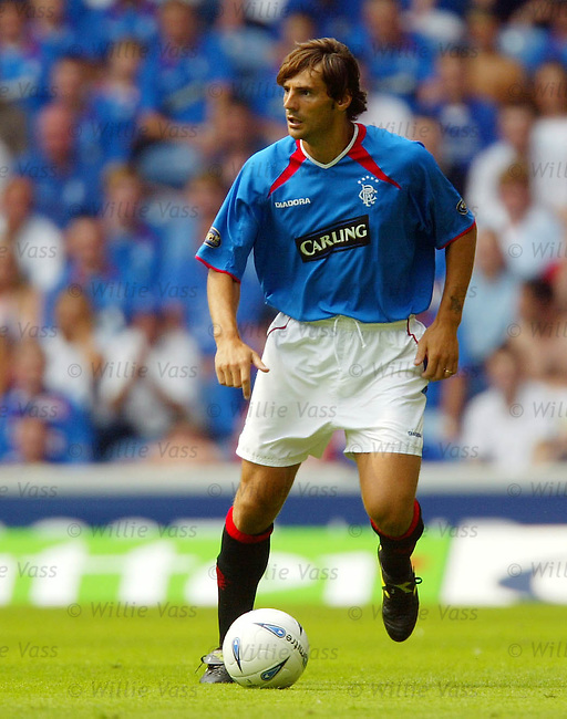 Paolo Vanoli, Rangers.stock season 2003-04..pic willie vass