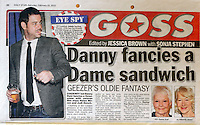 Daily Star<br /> Danny Dyer by ROS<br /> 41253<br /> tearsheet