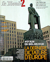 Le Monde 2 - 2015/05/21.Belarus.Photo: Martin Fejer