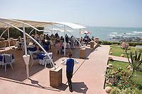 """Afrique/Afrique du Nord/Maroc /Casablanca: restaurant d'André Halbert """"A ma Bretagne"""" bd de l'océan sur la Corniche"""