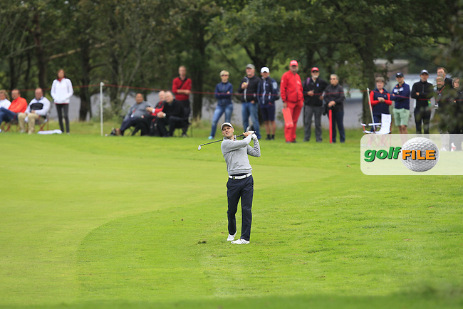 Martin Kaymer (GER) on the 1st fairway during Round 4 of Made in Denmark at Himmerland Golf &amp; Spa Resort, Farso, Denmark. 27/08/2017<br /> Picture: Golffile | Thos Caffrey<br /> <br /> All photo usage must carry mandatory copyright credit     (&copy; Golffile | Thos Caffrey)