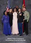 Wilmore (family) at the Military Police Company A 241 Marine Corps Birthday Ball, Saturday Nov. 19, 2016  in Lexington, Ky. Photo by Mark Mahan