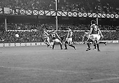 26/08/1980 Everton v Blackpool League Cup 2nd Round 1st Leg .Paul Fletcher's shot goes wide....© Phill Heywood.