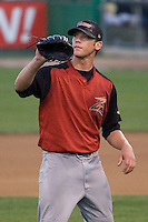 August 14, 2007: LHP Jared Cranston of the Salem-Keizer Volcanoes during a Northwest League game against the Everett AquaSox at Everett Memorial Stadium in Everett, Washington.