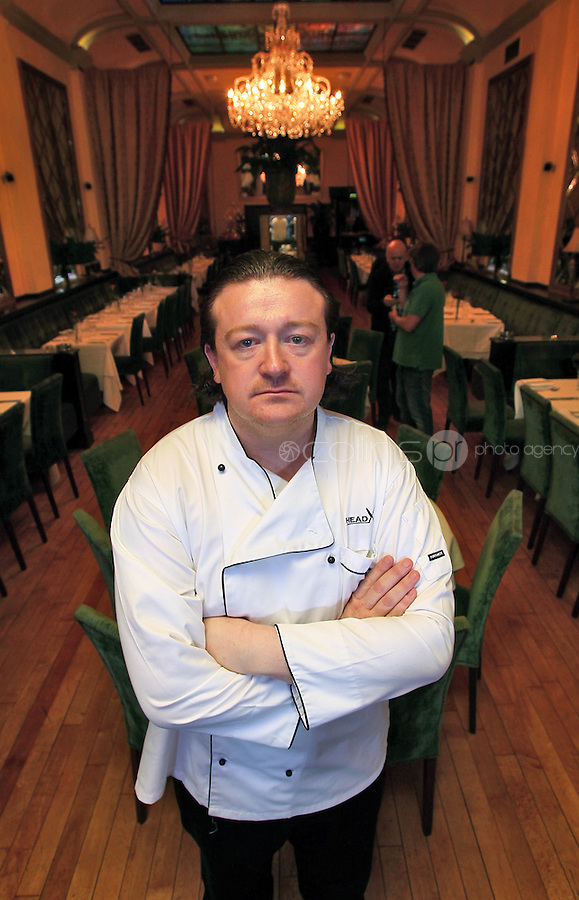 21/06/'11 Chef Conrad Gallagher of TV3's Celebrity Head Chef series pictured in his  'Dining Room' Restaurant...NO REPRODUCTION FEE PIC...Picture Colin Keegan, Collins, Dublin.