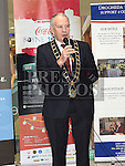 Mayor of Drogheda Oliver Tully at the launch of The Boyne 10K 2017 in The Laurence Centre. Photo:Colin Bell/pressphotos.ie