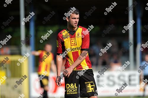 2013-07-07 / Voetbal / seizoen 2013-2014 / Rupel-Boom - KV Mechelen / Joachim Van Damme<br /><br />Foto: Mpics.be