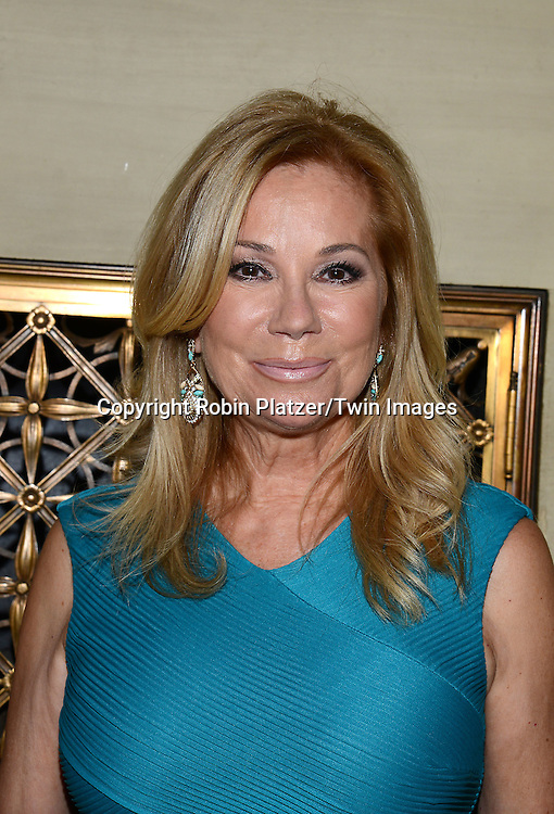 Kathie Lee Gifford attends the Library of American Broadcasting Annual Giants of Broadcasting Luncheon on October 16, 2014 at Gotham Hall in New York City. <br /> <br /> photo by Robin Platzer/Twin Images<br />  <br /> phone number 212-935-0770