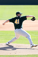 Anthony Capra, Oakland Athletics 2010 minor league spring training..Photo by:  Bill Mitchell/Four Seam Images.