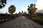 The inner causeway at Angkor Wat, Cambodia. June 8, 2013.