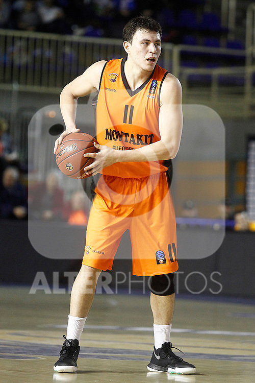 Montakit Fuenlabrada's Francisco Cruz during Eurocup, Top 16, Round 2 match. January 10, 2017. (ALTERPHOTOS/Acero)
