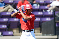 Jordyn Adams (3) of Green Hope High School in Cary, North Carolina during the Under Armour All-American Game practice presented by Baseball Factory on July 28, 2017 at Rocky Miller Park in Evanston, Illinois.  (Mike Janes/Four Seam Images)