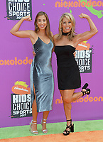 Katie Austin &amp; Denise Austin at Nickelodeon's Kids' Choice Sports 2017 at UCLA's Pauley Pavilion. Los Angeles, USA 13 July  2017<br /> Picture: Paul Smith/Featureflash/SilverHub 0208 004 5359 sales@silverhubmedia.com