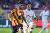 Marco Calderoni of US Lecce vies for the ball with Paulo Dybala of FC Juventus <br /> Lecce 26-10-2019 Stadio Via del Mare <br /> Football Serie A 2019/2020 <br /> US Lecce - FC Juventus<br /> Photo Carmelo Imbesi / Insidefoto